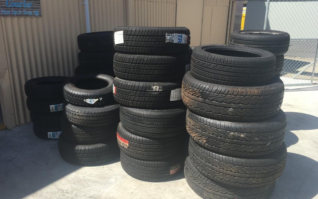 Tyres Just deilevered